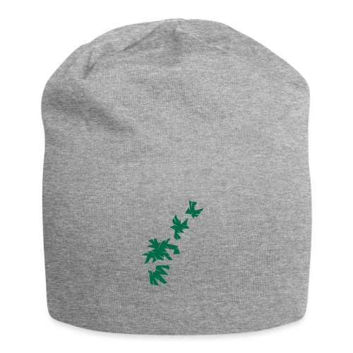 Green Leaves - Jersey-Beanie