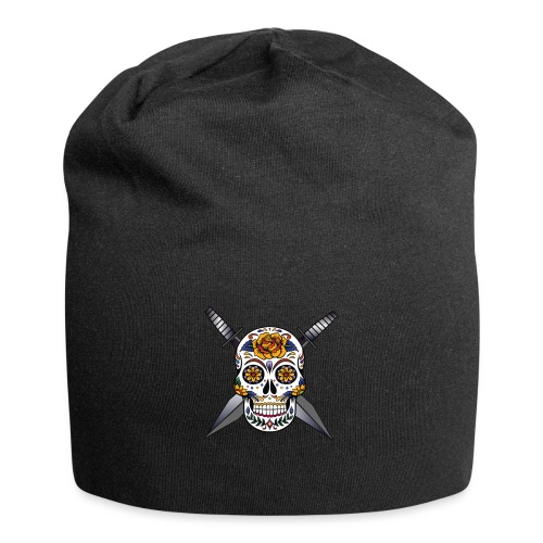 Cross skull swords - Bonnet en jersey