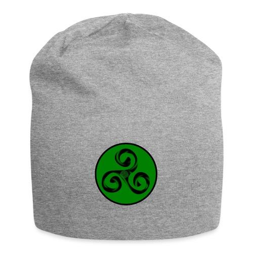 Triskel and Spiral - Gorro holgado de tela de jersey