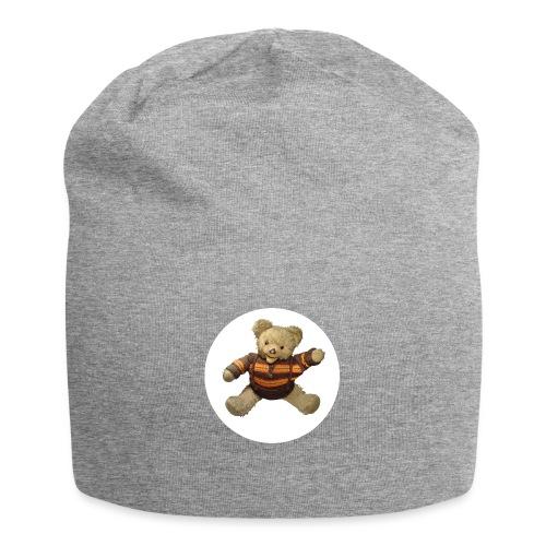 Teddybär - orange braun - Retro Vintage - Bär - Jersey-Beanie
