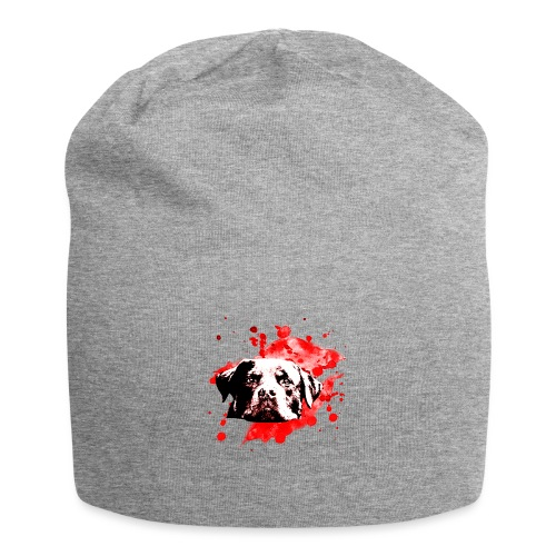 Rottweiler Watercolor red - Jersey-Beanie