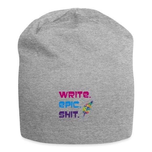 Write.Epic.Shit by www.Schreiben-im-Flow.de - Jersey-Beanie