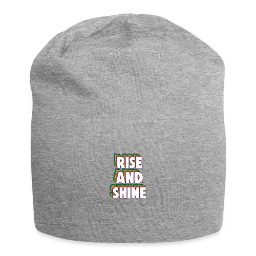 Rise and Shine Meme - Jersey Beanie