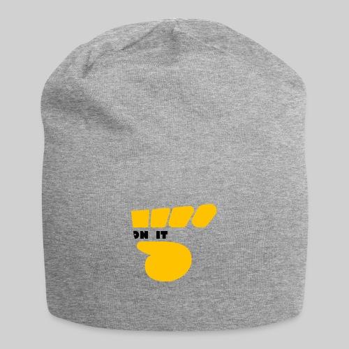 Logo 5 on It jaune / noir - Bonnet en jersey