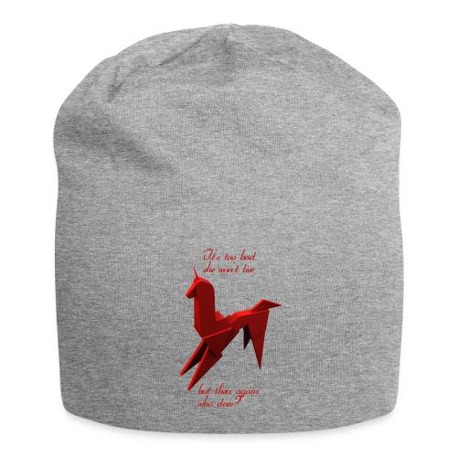UnicornioBR2 - Gorro holgado de tela de jersey