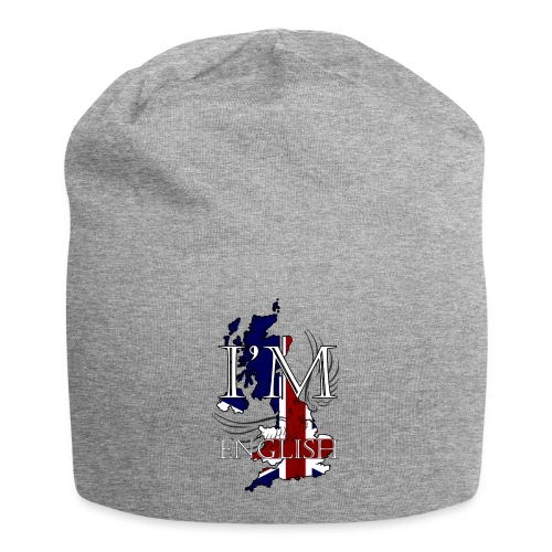 I am English - Beanie in jersey