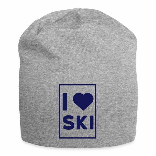 I love ski - Bonnet en jersey