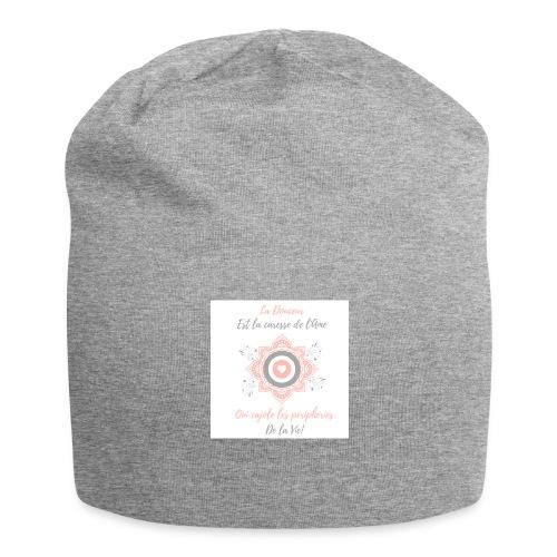 Douceur - Bonnet en jersey