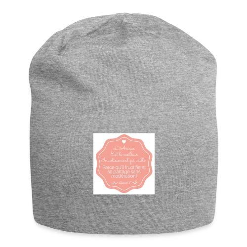 Amour - Bonnet en jersey