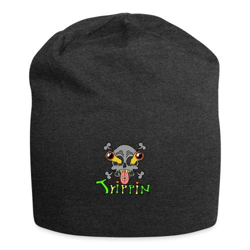 Totenkopf Trippin Design - Jersey-Beanie