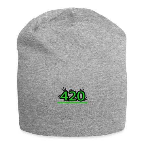 420 - Bonnet en jersey