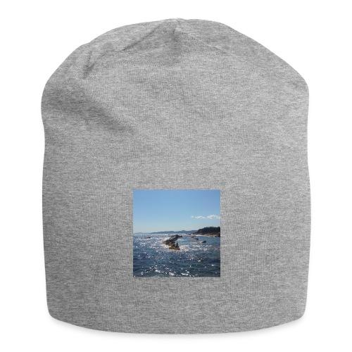 Mer avec roches - Bonnet en jersey
