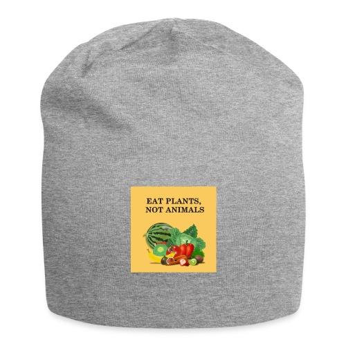 Eat plants, not animals - Bonnet en jersey