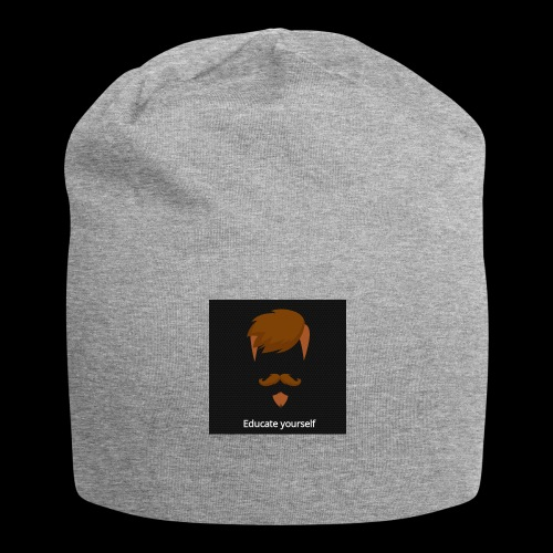 educate yourself - Jersey Beanie