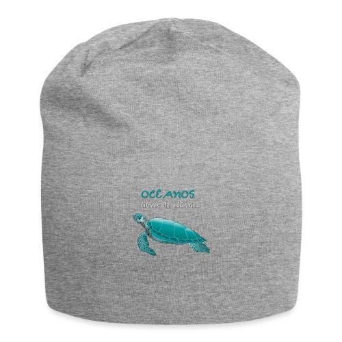 Océanos libres de plástico - Gorro holgado de tela de jersey