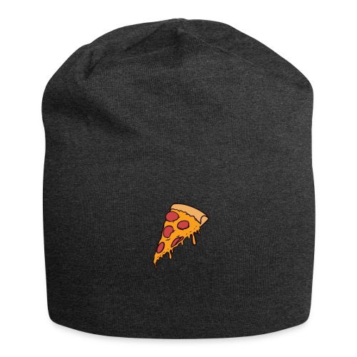 Pizza - Gorro holgado de tela de jersey