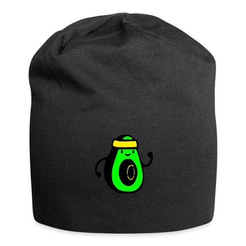 aguacate ninja - Gorro holgado de tela de jersey