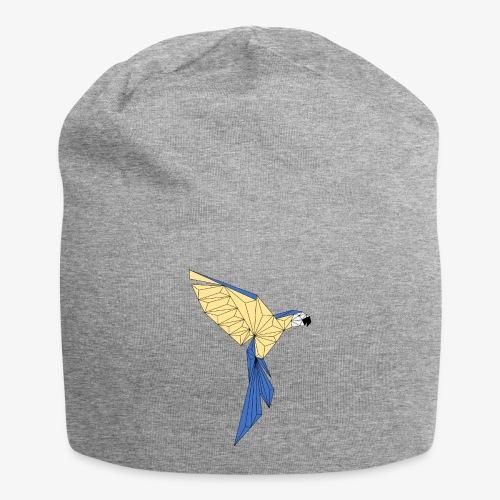 Papagei geometrisch - Jersey-Beanie