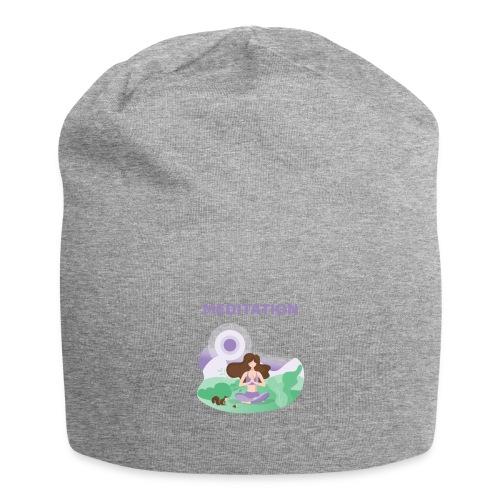 Yoga Meditation - Beanie in jersey