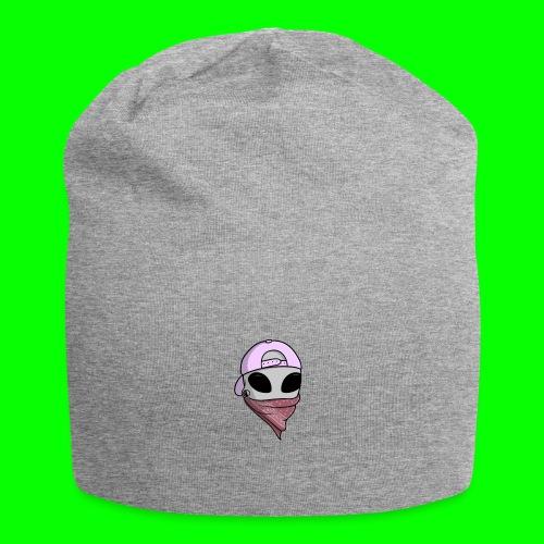gangsta alien logo - Beanie in jersey