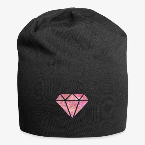 Pink Diamond - Beanie in jersey