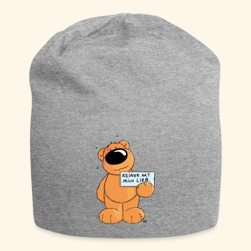chris bears Keiner hat mich lieb - Jersey-Beanie