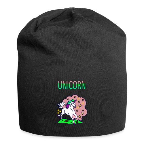 Einhorn unicorn - Jersey-Beanie