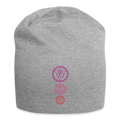 3 Chakra Tshirt dreifarbig Yoga Motiv - Jersey-Beanie