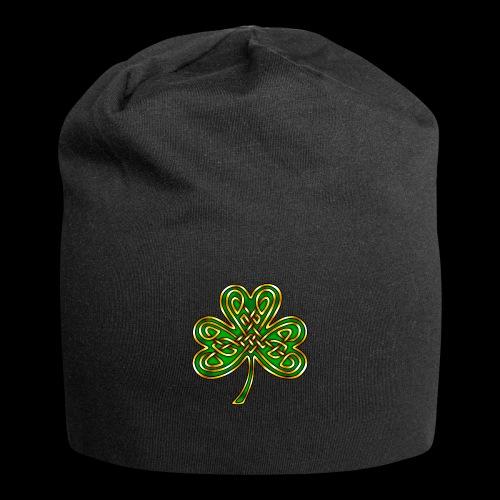 Celtic Knotwork Shamrock - Jersey Beanie
