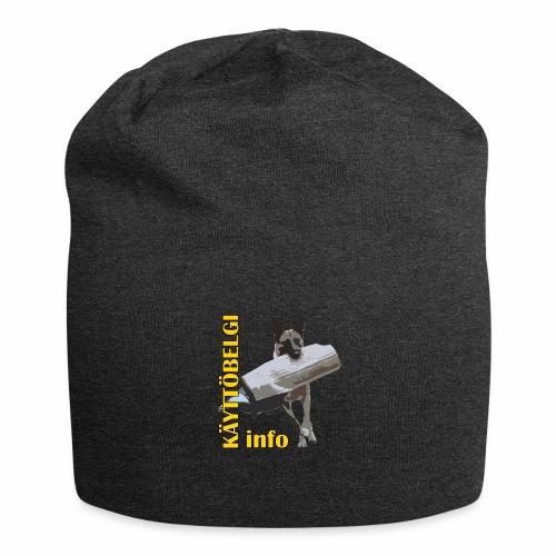 Käyttöbelgi.infon logotuotteet - Jersey-pipo