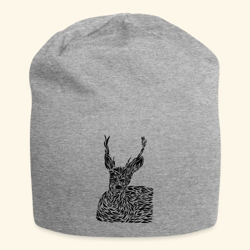 deer black and white - Jersey-pipo
