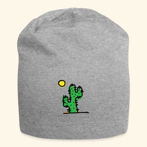 Cactus single - Beanie in jersey