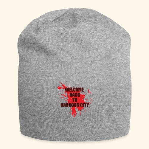 Welcome Back to Raccoon City TEXT 01 - Jersey Beanie