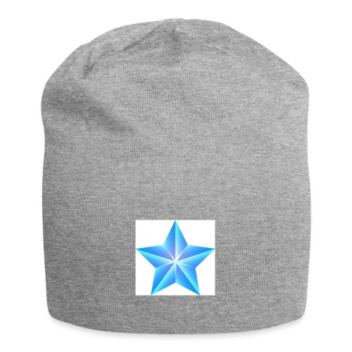 blue themed christmas star 0515 1012 0322 4634 SMU - Jersey Beanie