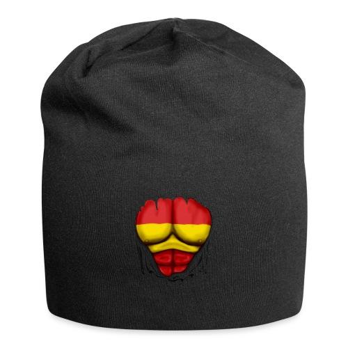 España Flag Ripped Muscles six pack chest t-shirt - Jersey Beanie
