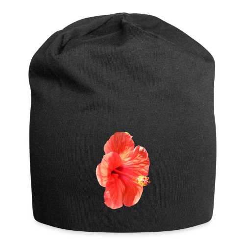 A red flower - Jersey Beanie