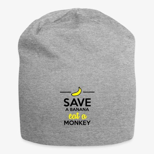 Essen Affen & Bananen - Save a Banana eat a Monkey - Jersey-Beanie