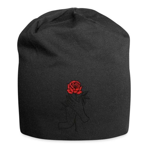 Fiore rosso - Beanie in jersey