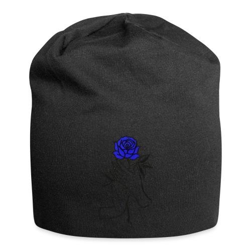 Fiore blu - Beanie in jersey