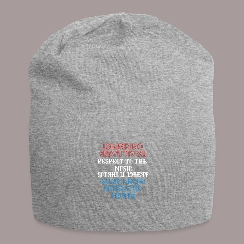 Music Never Seperated People - Jersey-Beanie