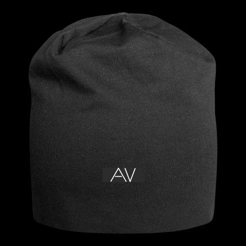 AV White - Jersey Beanie
