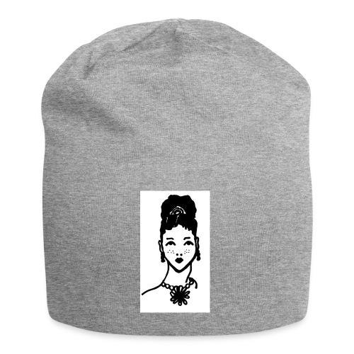 Zahara2 - Gorro holgado de tela de jersey
