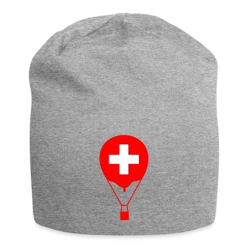 Gasballon im schweizer Design - Jersey-Beanie