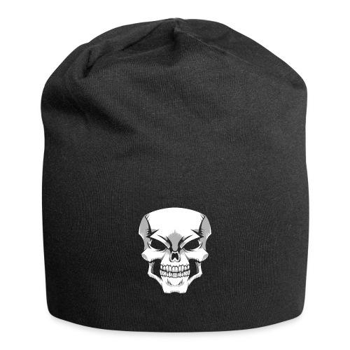 Skull - Gorro holgado de tela de jersey