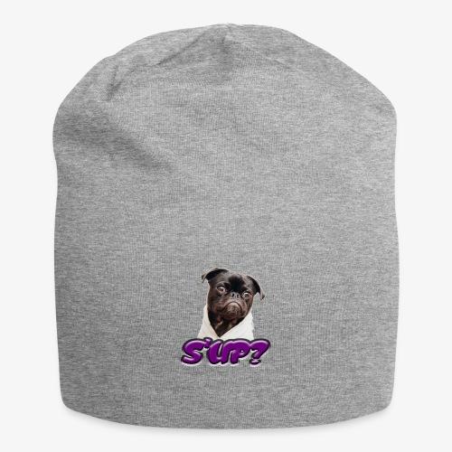 Sup pug - Jersey Beanie