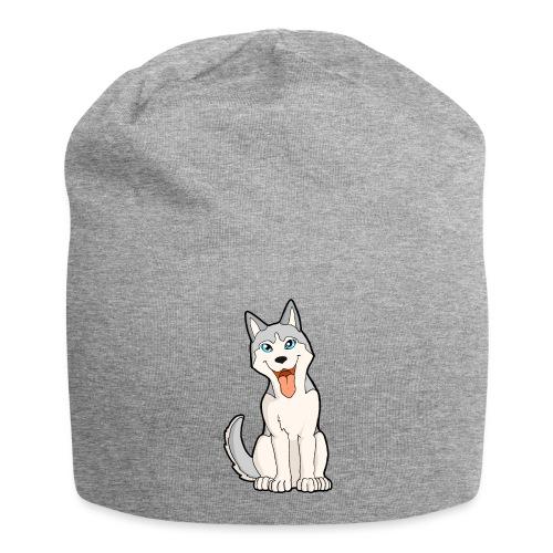 Husky grigio occhi azzurri - Beanie in jersey