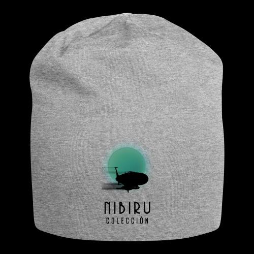 NibiruLogo - Gorro holgado de tela de jersey