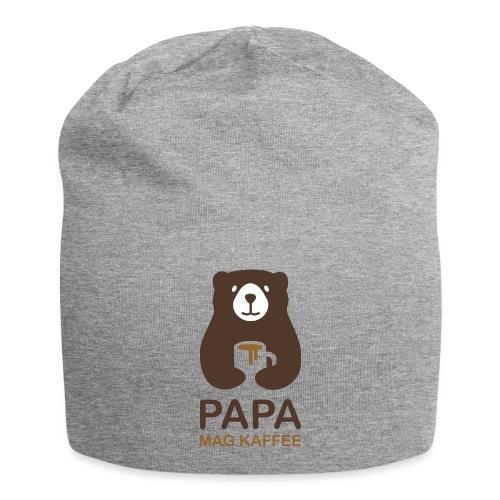 Papa aime le café - Bonnet en jersey