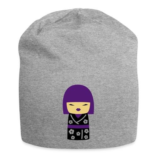 Motif Poupée Japonaise 2 - Bonnet en jersey