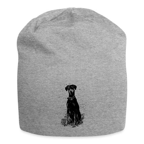 Dobermann Hunde - Jersey-Beanie